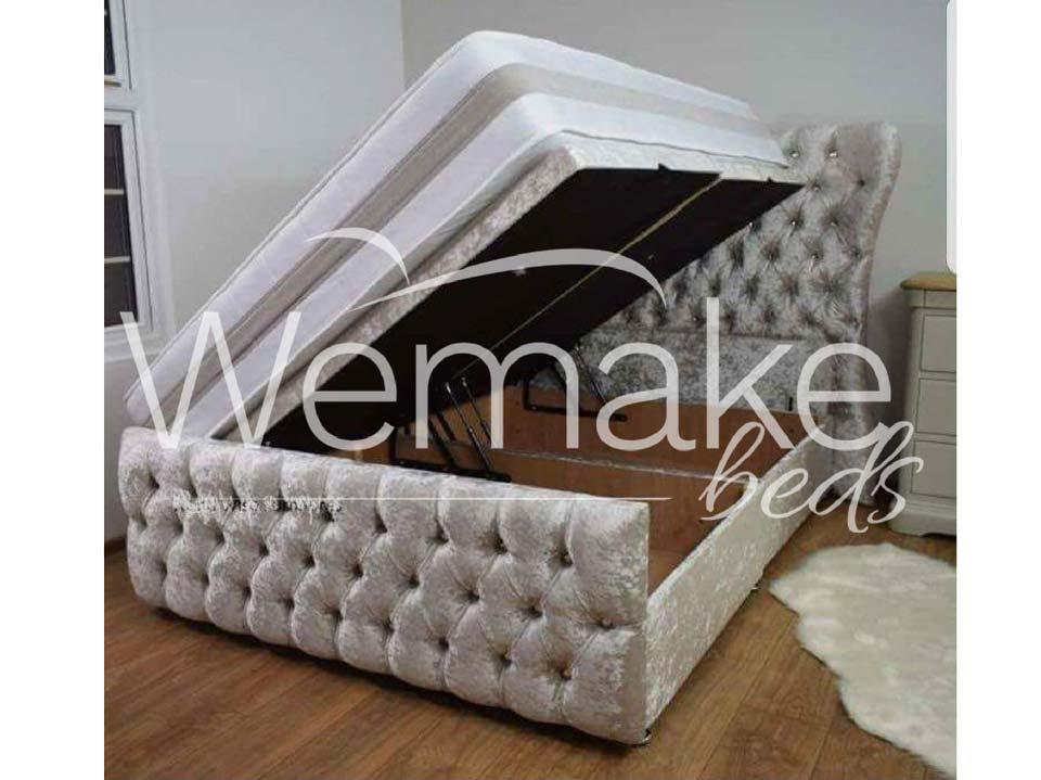 Kendal Ottoman Storage Bed Wemakebeds