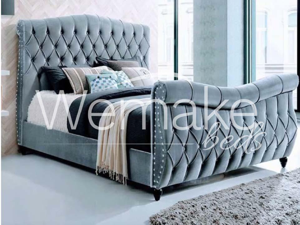 New Swan Bed Frame Wemakebeds